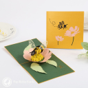3D Pop-Up Greetings Card #3774