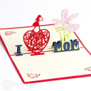 3D Pop-Up Greetings Card #3137