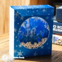 Ice Palace With Reindeer Scene Handmade 3D Pop-Up Card #2368