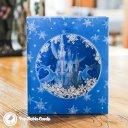 Ice Palace With Reindeer Scene Handmade 3D Pop-Up Card #2372