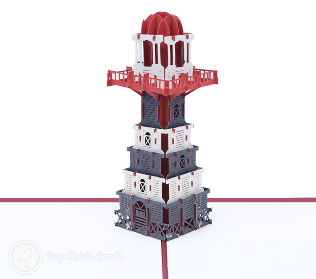Lighthouse Handmade 3D Pop Up Card #2987