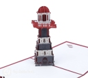 Lighthouse Handmade 3D Pop Up Card #2988