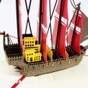 Majestic High Galleon 3D Pop Up Handmade Greeting Card #3743
