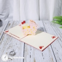 3D Pop-Up Greetings Card #3324