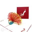 3D Pop-Up Greetings Card #3872