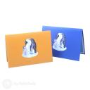 Penguin Family 3D Greetings Card #3351