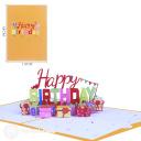 3D Pop-Up Greetings Card #3898