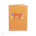 Pile Of Presents Happy Birthday 3D Pop Up Card #3899