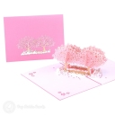 3D Pop-Up Greetings Card #2830