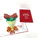 3D Pop-Up Greetings Card #3875