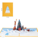 3D Pop-Up Greetings Card #3913