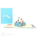 3D Pop-Up Greetings Card #3565