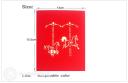 Pretty Carousel 3D Pop Up Handmade Card #3532