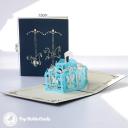 3D Pop-Up Greetings Card #3578
