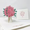 3D Pop-Up Greetings Card #3856