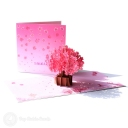 Sakura Japanese Cherry Blossom Handmade 3D Pop Up Card #2936