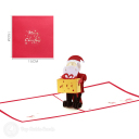 3D Pop-Up Greetings Card #3498
