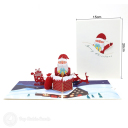 3D Pop-Up Greetings Card #3551
