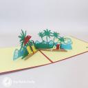 3D Pop-Up Greetings Card #3263