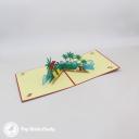 Seaside Beach Holiday 3D Pop Up Card #3266