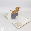3D Pop-Up Greetings Card #3058