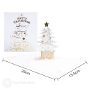 3D Pop-Up Greetings Card #3588