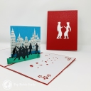 3D Pop-Up Greetings Card #3860