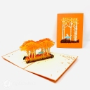 3D Pop-Up Greetings Card #3800