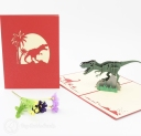 3D Pop-Up Greetings Card #3213