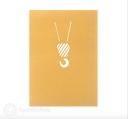 Tall Tower Crane 3D Pop Up Handmade Card #3539