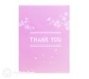 Floral Pink Thank You Handmade 3D Pop Up Card #2976