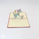 3D Pop-Up Greetings Card #3022