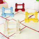 Tower Bridge 3D Pop-Up Greeting Card 489