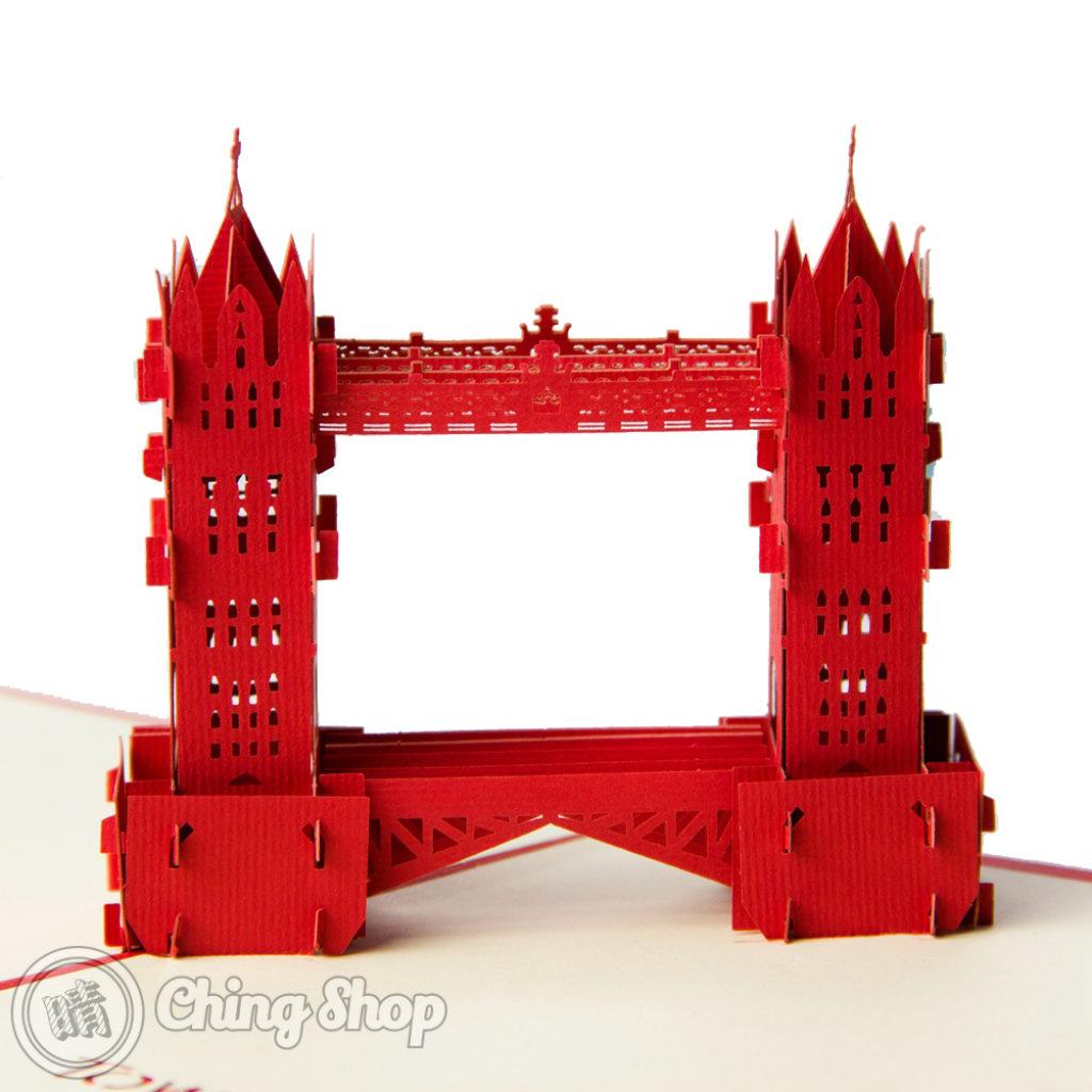 Tower Bridge 3D Pop-Up Greeting Card 498