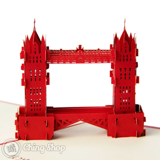 Tower Bridge 3D Pop-Up Greeting Card 498