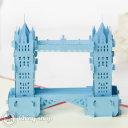 Tower Bridge 3D Pop-Up Greeting Card (Blue) 491