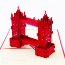 Tower Bridge Handmade 3D Pop-Up Card #3119