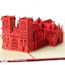 Westminster Abbey 3D Greeting Card 1594