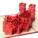 Westminster Abbey 3D Greeting Card 1596