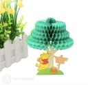 Winnie The Pooh Eating Honey Birthday Card #3309